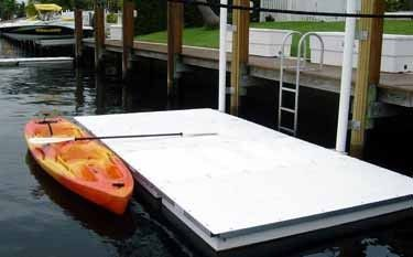 Accudock kayak dock