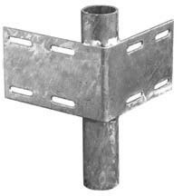 Dock hardware - Inside pipeholder for floating docks