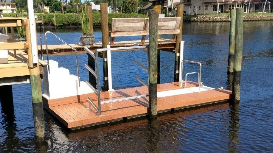 Kayak-Slip-Dock-Decked-Overhead-Assist-Ladder