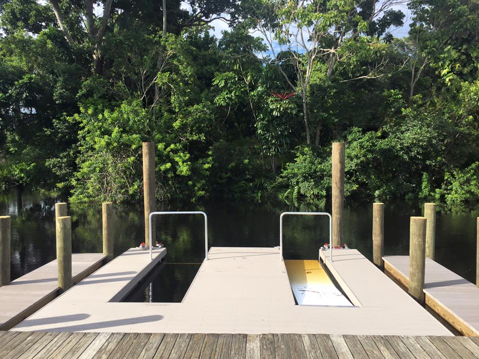 Kayak Slip Dock – Safe Launch – Overhead Assist