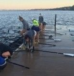 Floating Dock - Rowing Dock