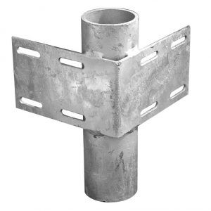 Dock Hardware - Inside Pipe Holders for Floating Docks