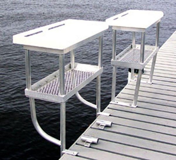 Dock Accessories - Fish Cleaning tables - 2 and 4 legs
