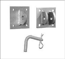 Dock hardware - Hinge sets for floating docks