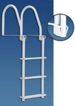Dock ladders - Galvanized Flip Up Dock Ladder