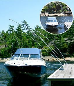 Mooring Whips for Boat Docks - Standard, Premium and Ultimate Styles