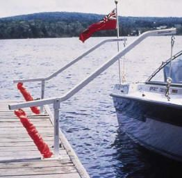 Wake Watcher Boat Mooring Systems for Boat Docks