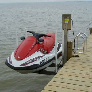 Jet Ski Lift - one pole