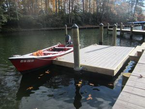 Build your own floating dock - Step 5