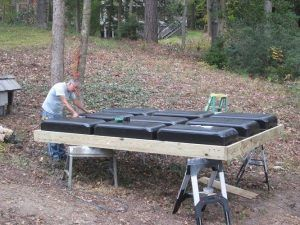 Build your own floating dock - step 2
