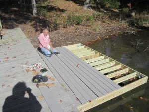 Build our own Floating Dock - Step 3