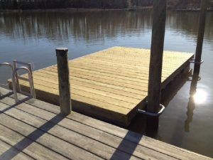 Floating Docks - Build your own with a Floating Dock Kit by Dock Accents